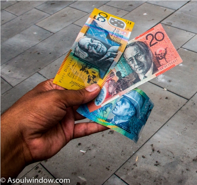 Australian dollar currency