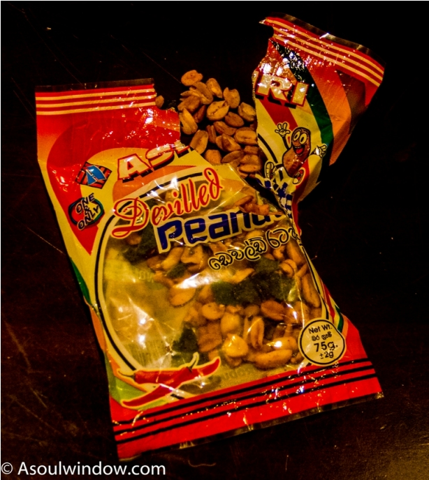 Peanuts. India Sri Lanka Vegan Food