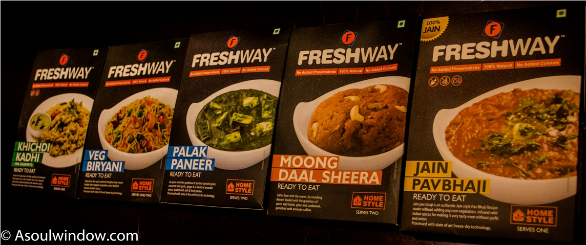 Freshway food ready to eat vegetarian