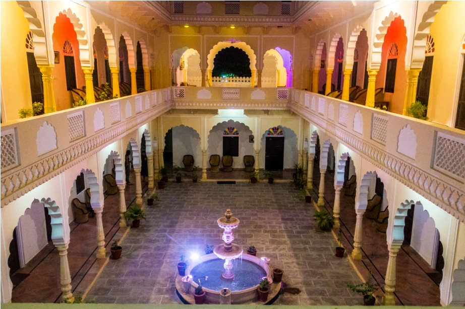 Ranthambore Heritage Haveli. Kumbha T34 Tiger safari, Ranthambore National Park, zone 6 Rajasthan, Incredible India