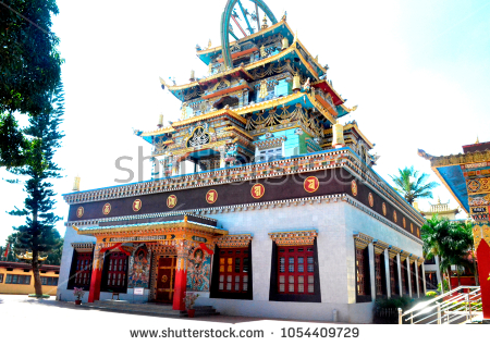stock-photo-golden-temple-coorg-1054409729