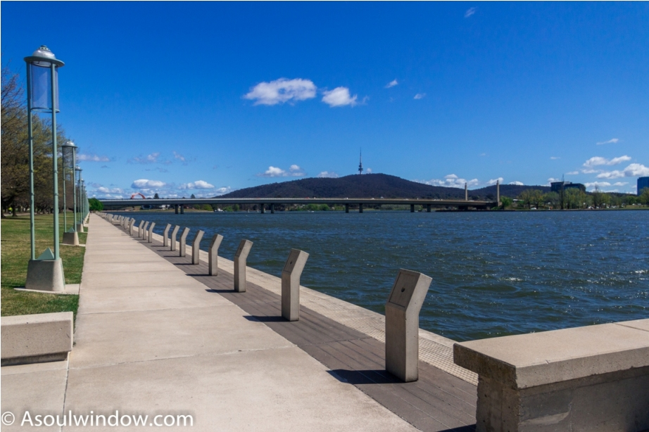 Lake Burley Griffin Canberra Australia