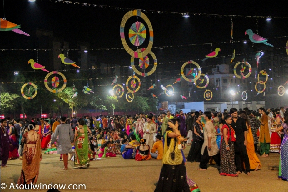 United Way Garba Dance Vadodara Gujarat