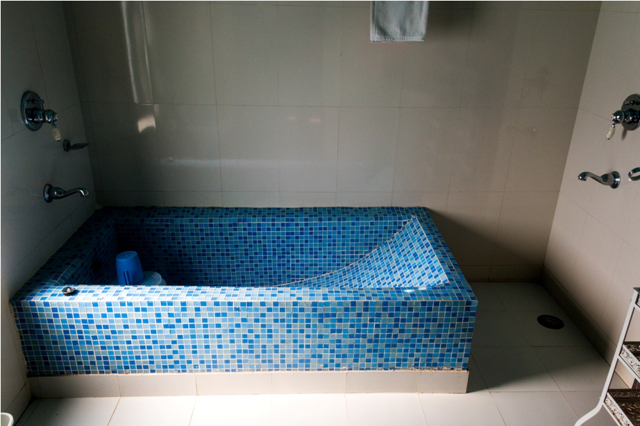 Justa Lake Nahargarh Palace, Chittorgarh Rajasthan India Suite room bathtub