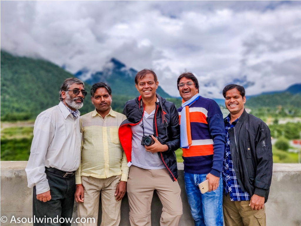Kailash Mansarovar Yatra Kyirong China Madhuban Foods kyirong team