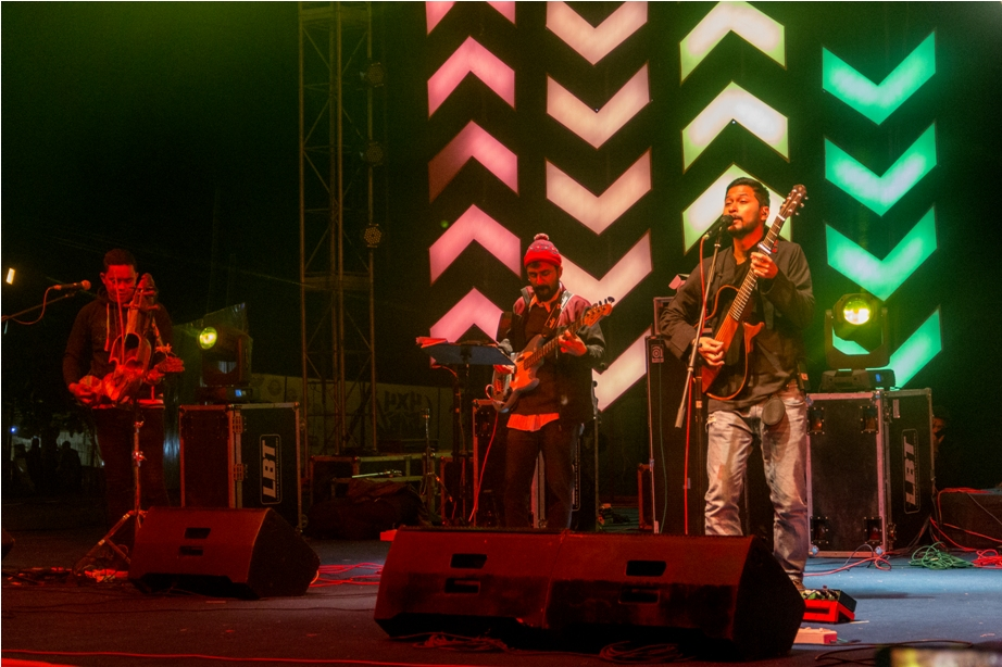 Bipul Chettri Orange music festival Dambuk Arunachal Pradesh India