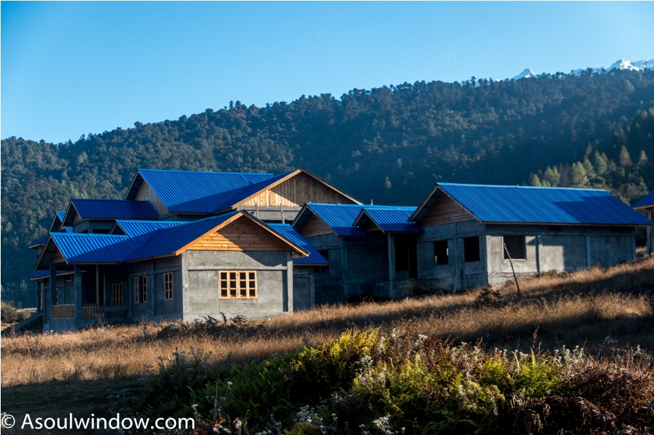 Homes Adventure At Mechuka Arunachal Pradesh India