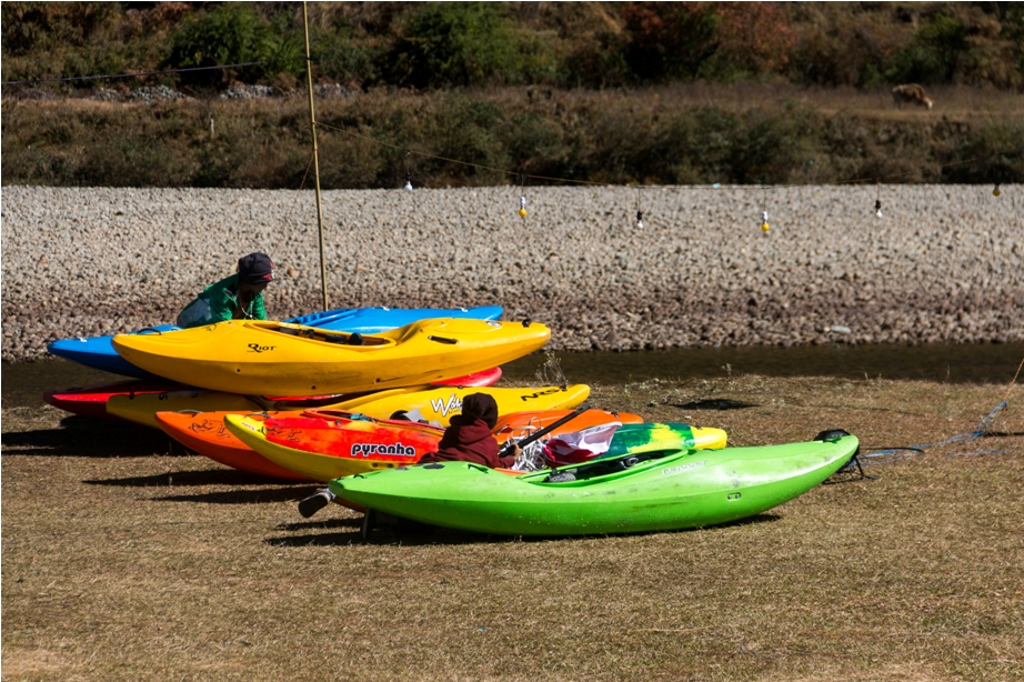 white water rafting Adventure At Mechuka Arunachal Pradesh India