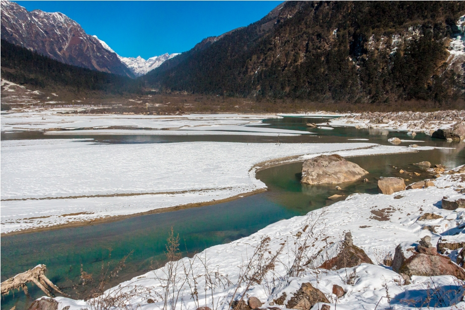 Lachung and Yumthang valley Snow winter Sikkim North East India (25)
