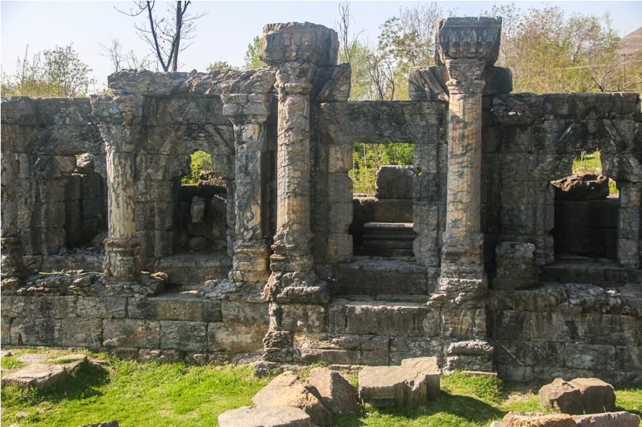 Martand Hindu Sun Temple Mattan Anantnag Srinagar Jammu and Kashmir India (10)