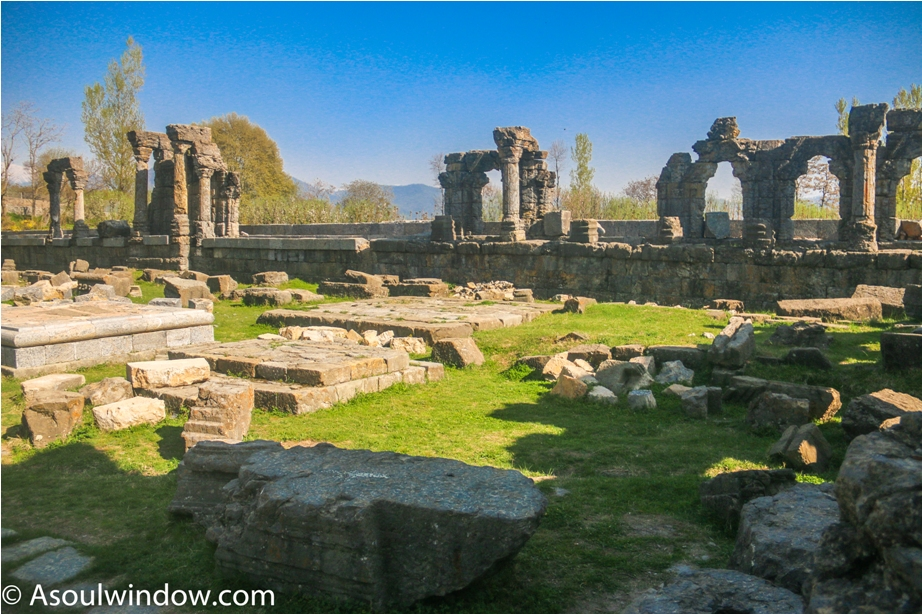 Martand Hindu Sun Temple Mattan Anantnag Srinagar Jammu and Kashmir India (2)