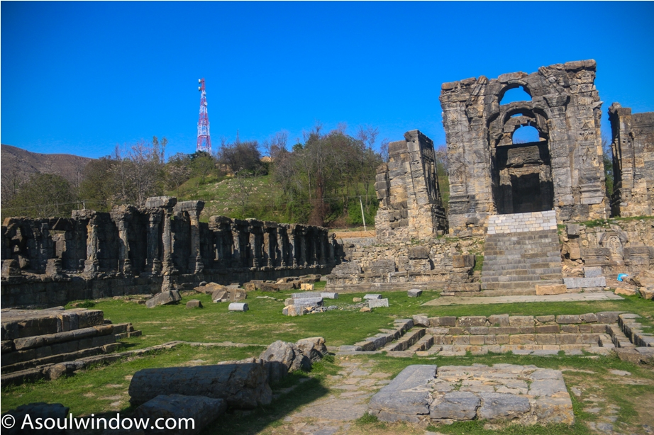 Martand Hindu Sun Temple Mattan Anantnag Srinagar Jammu and Kashmir India (3)