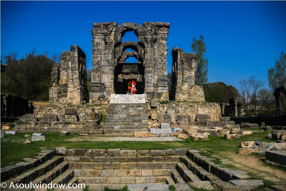 Martand Hindu Sun Temple Mattan Anantnag Srinagar Jammu and Kashmir India (4)