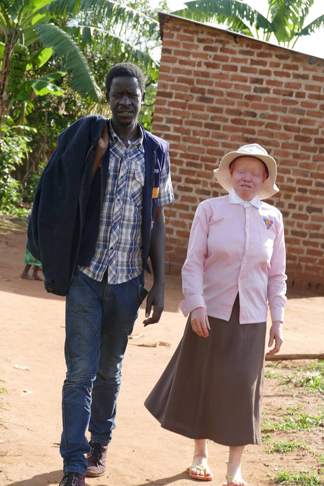 pat Robert and hasifah Namulondo during field visit to kamuli district in Eastern Uganda