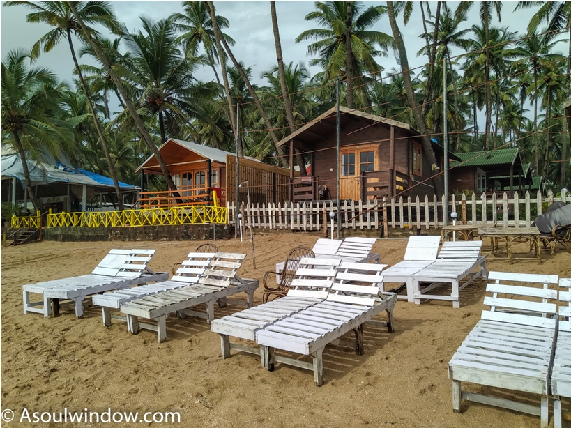 Recliner Coco Beach Hut Palolem Patnem Beach south Goa India (7)