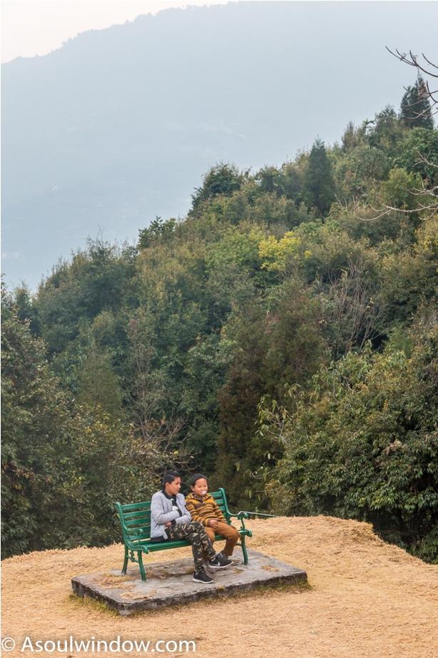 Rabdentse ruin site Pelling West Sikkim