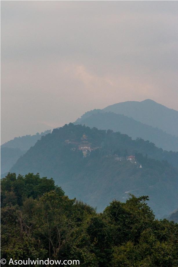 Pemayangtse Monastry Rabdentse ruin site Pelling West Sikkim
