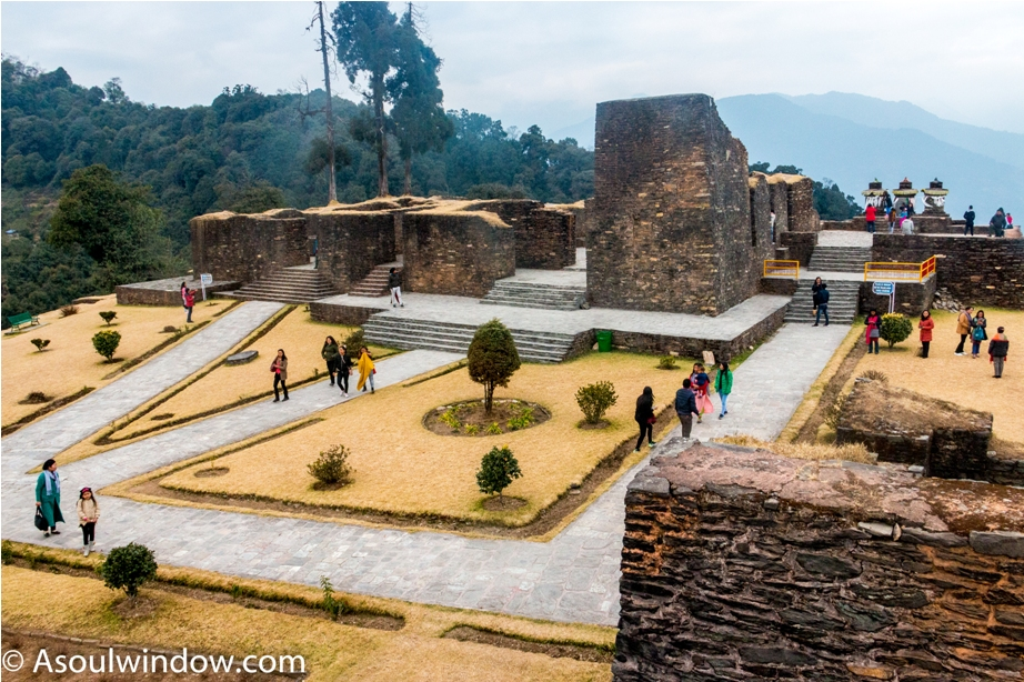 Rabdentse ruin site Pelling West Sikkim. Offbeat Things to do in Sikkim.