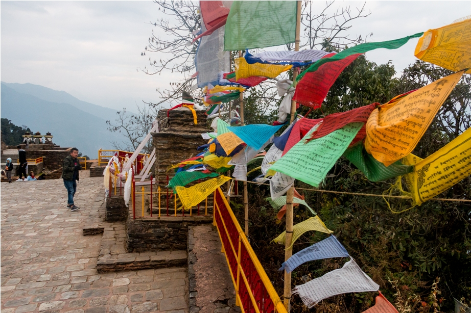 Rabdentse ruins near upper Pelling and the ancient Pemayangtse Monastry in West Sikkim
