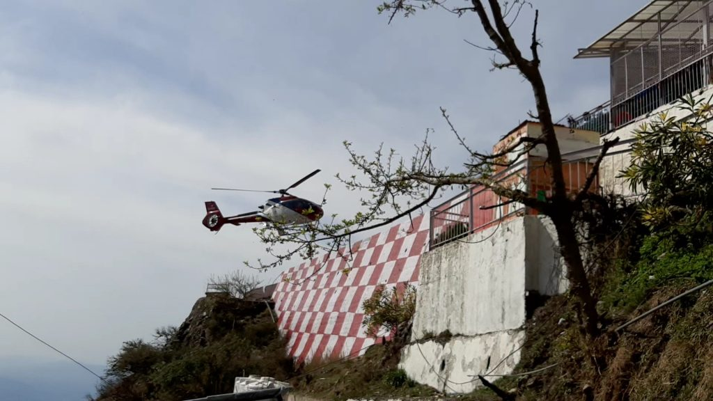 Helicopter booking at Vaishno Devi can be easily done.